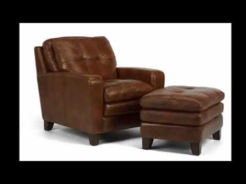 Leather Chair - Leather Chair And Ottoman Set | Best Interior Design Picture Ideas of Modern