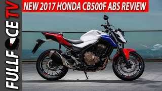 10. 2017 Honda CB500F ABS Specs and Price