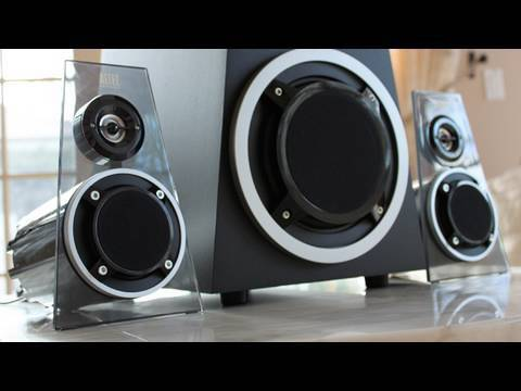 Frilla - My Complete Review on Altec Lansing's 2.1 Home Speaker System! These are being marketed as a universal style of speakers, compatible with really anything tha...
