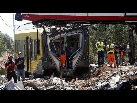 Ιταλίας: Όλα τα ενδεχόμενα ερευνούν οι αρχές για την σιδηροδρομική τραγωδία