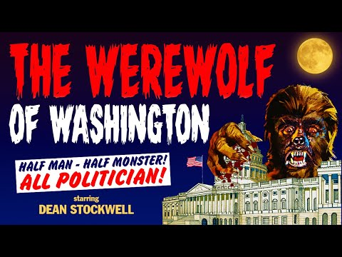 The Werewolf of Washington - Full Movie - Color - Horror/Suspense/Comedy - Dean Stockwell  (1973)