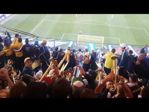 Si quieren ver fiesta vengan a la 12 🎶 Gol de Benedetto Boca vs Quilmes 25/09/16 - La 12 - Boca Juniors - Argentina - América del Sur