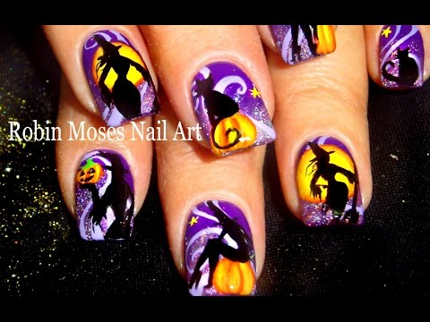 nail art witches