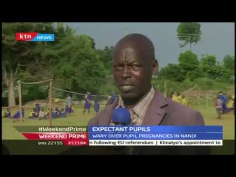 10 pupils of Pemja Primary School in Nandi County are expectant leaving their parents in a limbo