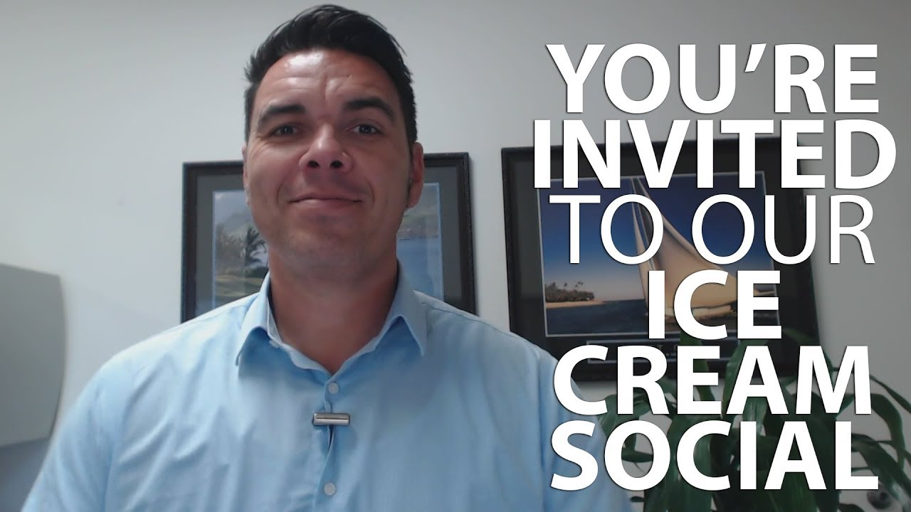 You're Invited To Our Ice Cream Social