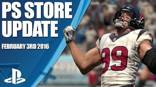 PlayStation Store Highlights - 3rd February 2016