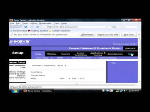 Change IP Address Using Router
