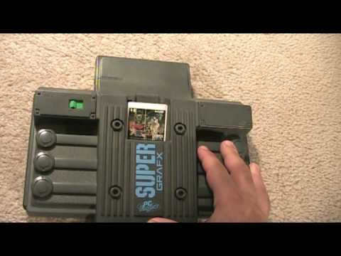 Rare NEC SuperGrafx System Review - Gamester81