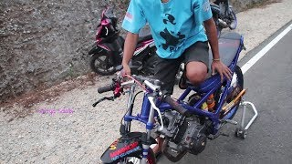 Video Setang Gaya Baru,, Setting Satria Fu dan Matic 200cc di JLS MP3, 3GP, MP4, WEBM, AVI, FLV Oktober 2018