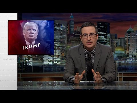 Donald Trump: Last Week Tonight with John Oliver (HBO) (видео)