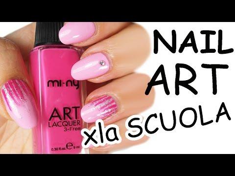 nail art per la scuola-facile!