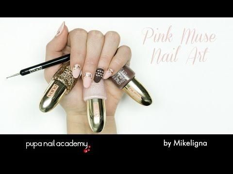 pink muse - nail art