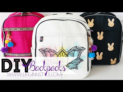 DIY Backpack Makeover