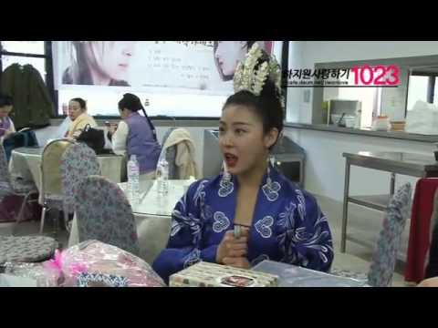[20140405] CN1023 visits EK's set (видео)