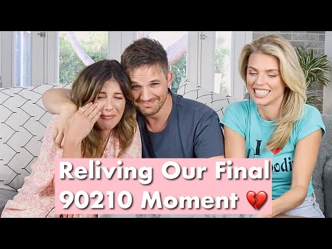 REACTING TO 90210 SERIES FINALE w/ Matt Lanter & Annalynne Mccord | Shenae Grimes Beech