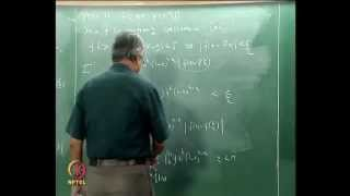 Mod-09 Lec-51 Approximation Of A Continuous Function By Polynomials: Weierstrass Theorem