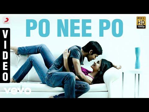 3 - Po Nee Po Video   Dhanush, Shruti   Anirudh