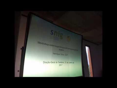 Sessão de Introdução apresentada por Danilo Furtado e Henrique Silva, Direção-Geral do Território (DGT)
