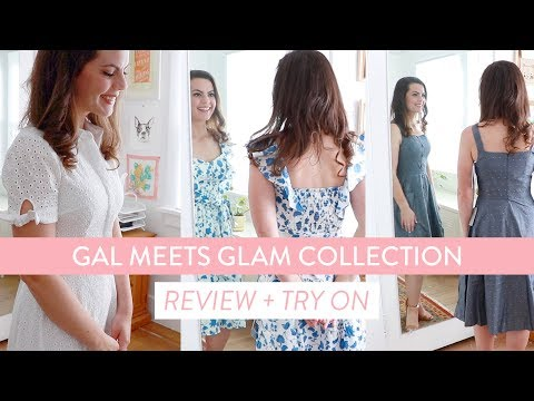 Gal Meets Glam Collection DRESS HAUL & TRY ON | Help Me Decide Which Ones to Keep!
