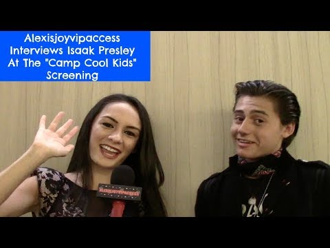 Stuck In The Middle's Isaak Presley Interview - Alexisjoyvipaccess - Camp Cool Kids