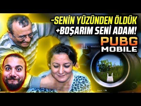ANNEM ve BABAM PUBG Mobile OYNARSA? ( Pubg Mobile Komik Anlar - Challenge - Troll )