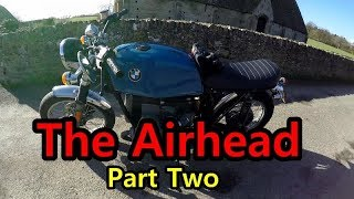3. The airhead Part Two | Riding a Classic BMW R65 Motorcycle | Ian Fleming's grave. James Bond