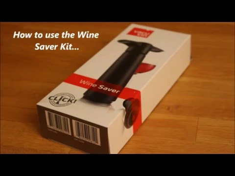How To Use a Wine Pump