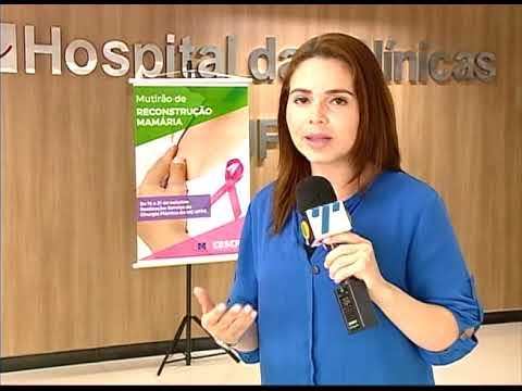 [JORNAL DA TRIBUNA] Hospital das Clínicas de PE realiza mutirão de reconstrução mamária