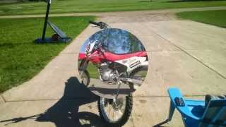 4. My 2008 Honda CRF 150