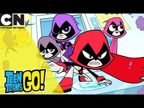 Teen Titans Go! | Capture The Ravens | Cartoon Network UK 🇬🇧