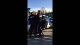 Kolejna draka z udziałem policji tym razem w Piasecznie pod Warszawą