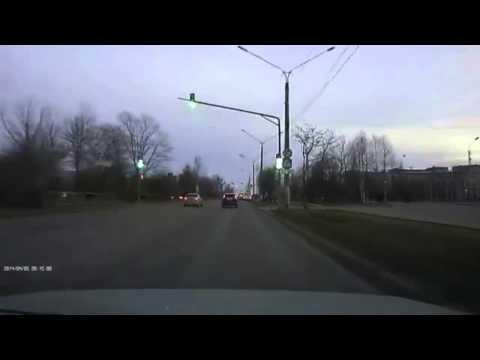 Авария в Череповце 05 04 2014