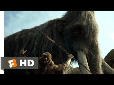 10,000 BC (1/10) Movie CLIP - The Mammoth Hunt (2008) HD