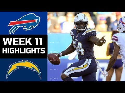 Video: Bills vs. Chargers | NFL Week 11 Game Highlights