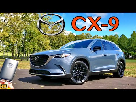 2021 Mazda CX-9 Carbon Edition // BIG Upgrades to this FUN family SUV!