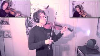 Debut album found at: https://joelgrainger.bandcamp.com/album/wandererFind me on Facebook: https://www.facebook.com/joelviolinSo after rediscovering this rather classic song on youtube, I decided to try an arrangement for violin(s). The different parts are layered over a basic backing track, and recorded using Logic. The melodies were from ear so don't have any sheet music for you guys unfortunately! Let me know what you think!Joel :)