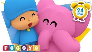 Pocoyo português Brasil -  POCOYO ITALIANO - Porticine [ 24 min ]  VIDEO e CARTONI ANIMATI per bambini