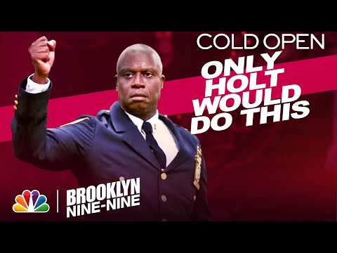 Cold Open: Holt's Halloween Heist Announcement - Brooklyn Nine-Nine