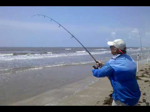Crystal Beach Surf Fishing, FL – June 2010