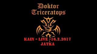 Video DOKTOR TRICERATOPS Kain live 20170216 Jatka