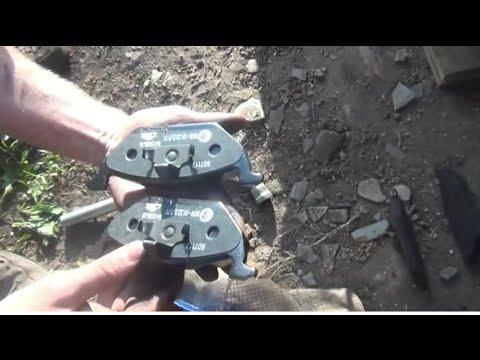 Skoda fabia замена тормозные колодки фотка