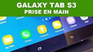 Ne ratez plus nos vidéos, abonnez-vous : http://goo.gl/esHFAY Notre prise en main de la nouvelle Samsung Galaxy Tab S3 au MWC 2017 ! ==================== Pho...