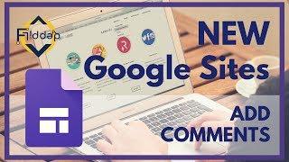 #1 구글폼으로 간단하게 댓글기능 구현 - Insert a comment section into the NEW Google Sites 2017