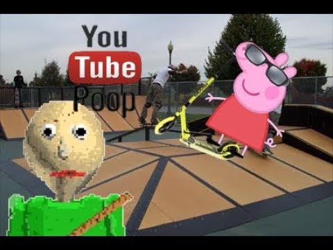 YTP (Clean) - Peppa and Baldi's Rad Scooter Adventure