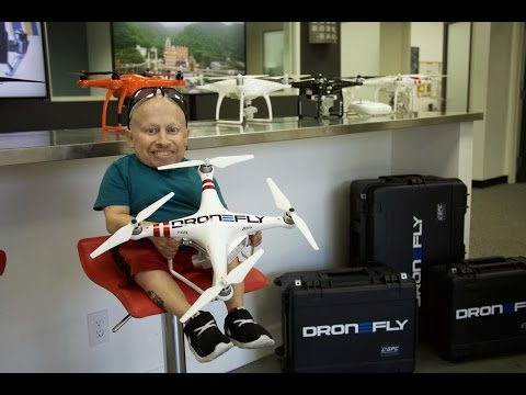 I Crash My Drone! | Verne Troyer