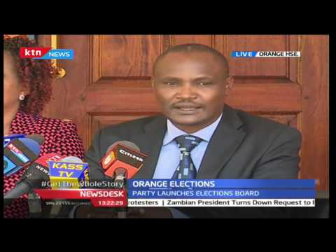 Orange Democratic Movement launches election board at Orange House