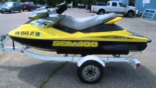 2. 2004 Sea Doo 4 TEC SUPERCHARGED  RXP  Used Boats - Alexandria,Minnesota - 2014-07-14