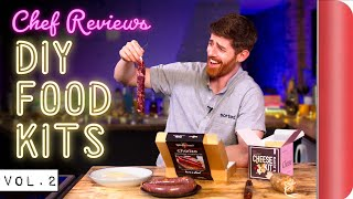 A Chef Reviews DIY Food Kits Vol. 2 by SORTEDfood