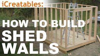 Video How To Build A Shed - Part 5 - Wall Framing MP3, 3GP, MP4, WEBM, AVI, FLV Agustus 2019