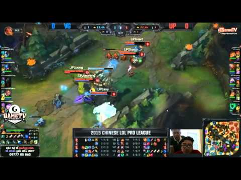 LPL 2015 mùa hè( W1D3 )- UP vs VICIGAMING - 23/05/2015